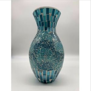Other - Vase 11 inch Home Decor blue white decoration